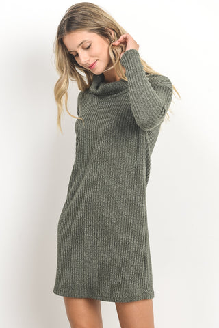 Elsa Ribbed Knit Dress