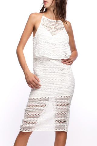 Leah Textured Dress