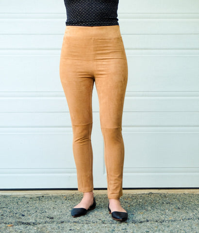 Lennon Suede Leggings