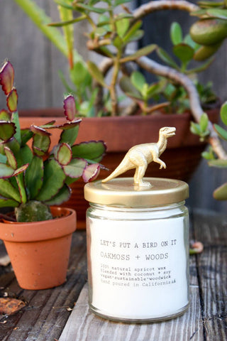 T-Rex Candle