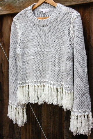 Fringe Stitch Sweater