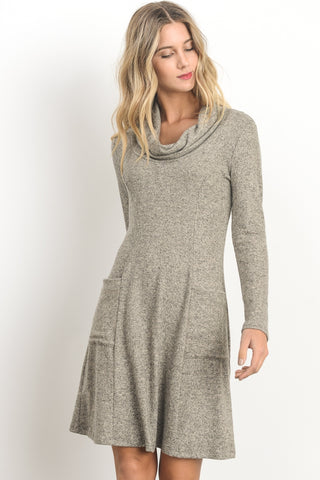 It Has Pockets Sweater Dress