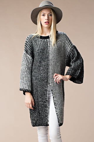 Boxy Knit Sweater