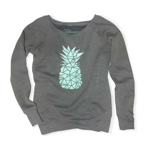 Wholeheartedly Pineapple Sweatshirt