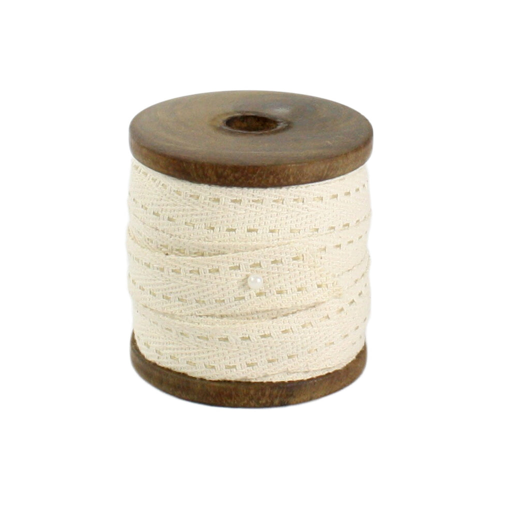 Spool of Cotton Ticking