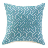 Blue And White Knots Throw Pillow - Urbanily Lifestyle Goods