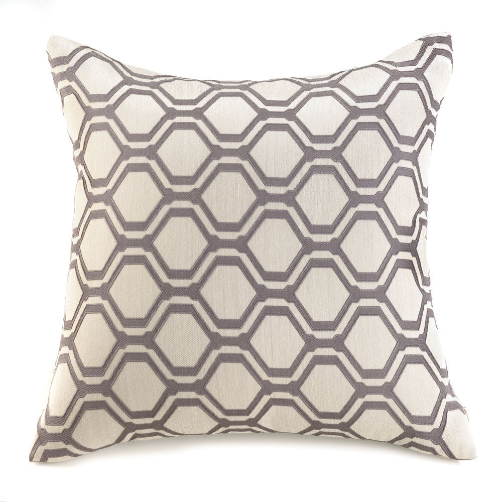 Hexagon Geometric Throw Pillow - Urbanily Lifestyle Goods