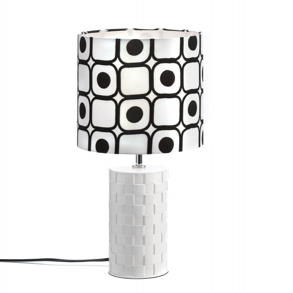 Modern Black And White Table Lamp