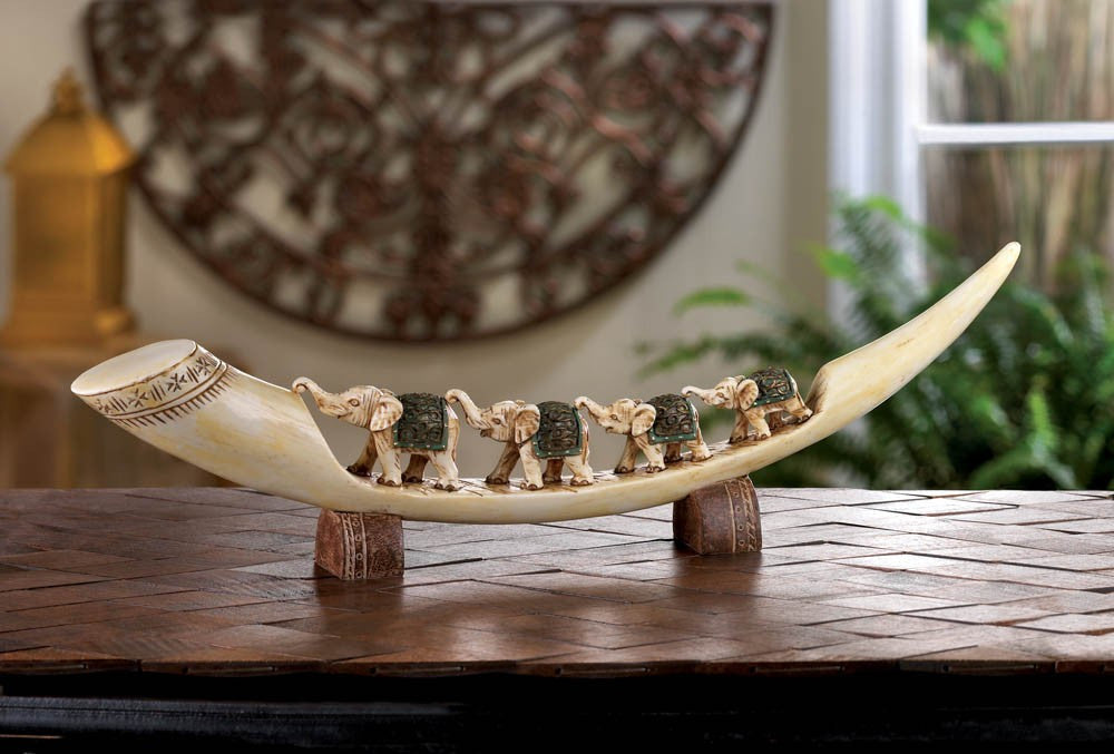 Green Elephant Tusk