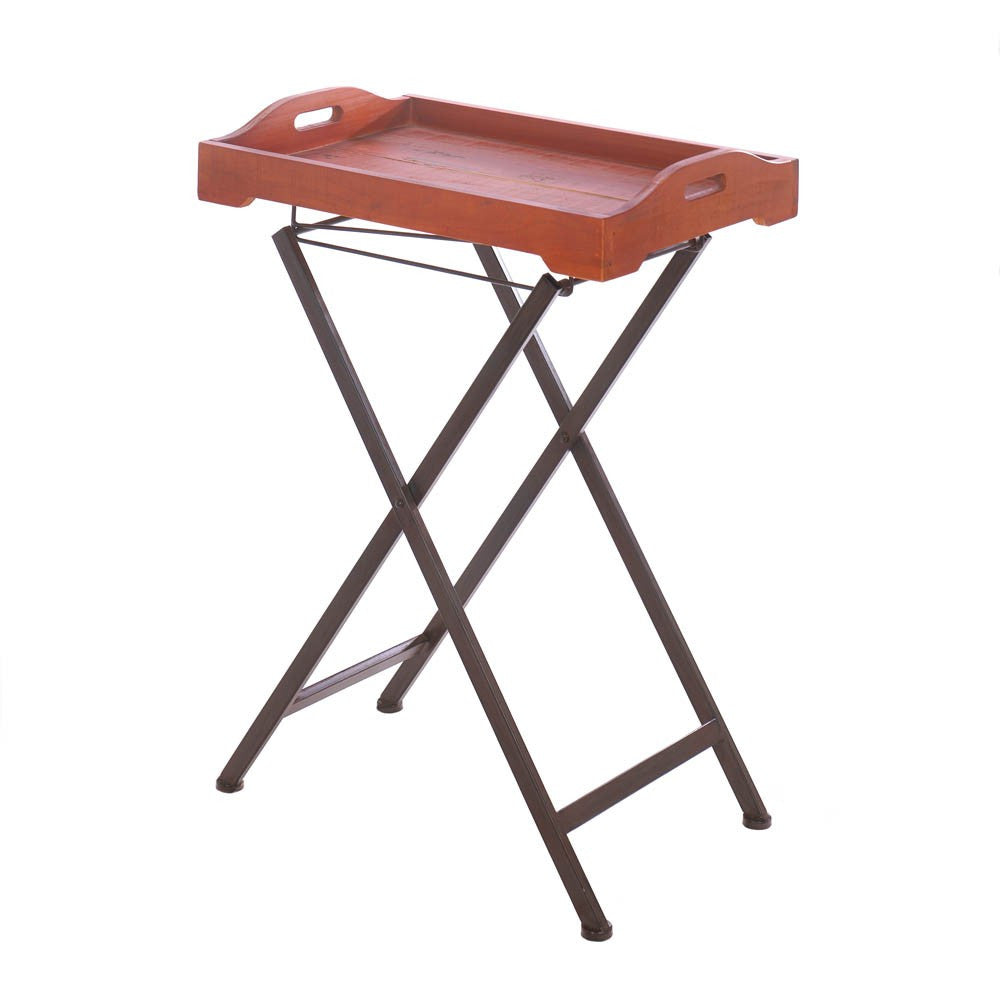 Rustic Spirit Tray Table