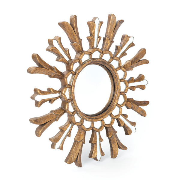 Antiqued Brass Gypsy Mirror - Urbanily Lifestyle Goods
