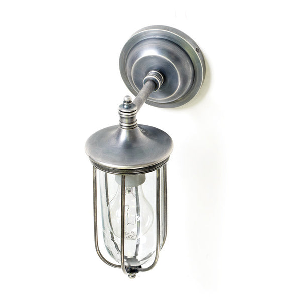 Industrial Steel Tube Sconce - Modern Industrial & Eclectic Vintage Furniture & Decor by Urbanily - Wall Light