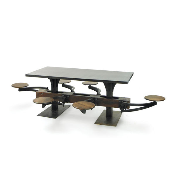 Industrial Lunchroom Table - Urbanily Lifestyle Goods