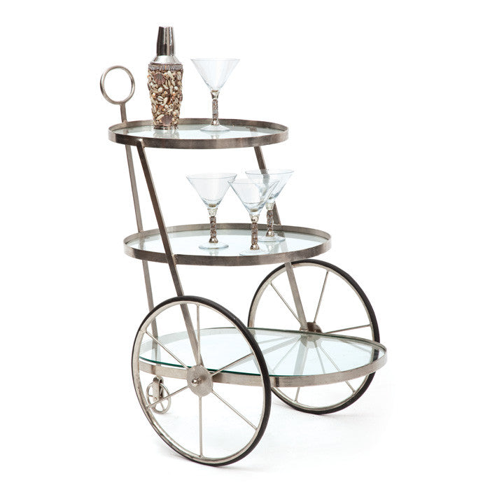 Miami Bar Tea Cart