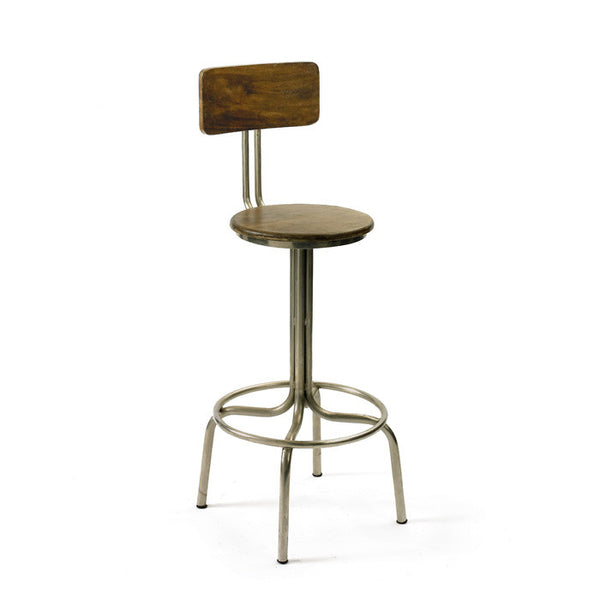 Clevelander Stool - Modern Industrial & Eclectic Vintage Furniture & Decor by Urbanily - Stool
