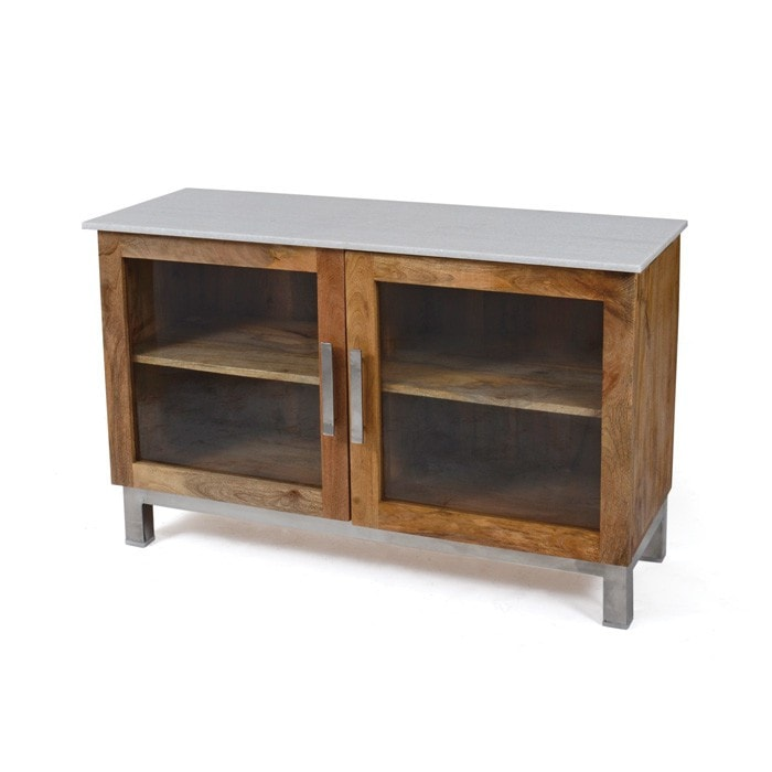 Wooster Two Door Cabinet - Modern Industrial & Eclectic Vintage Furniture & Decor by Urbanily - Cabinet