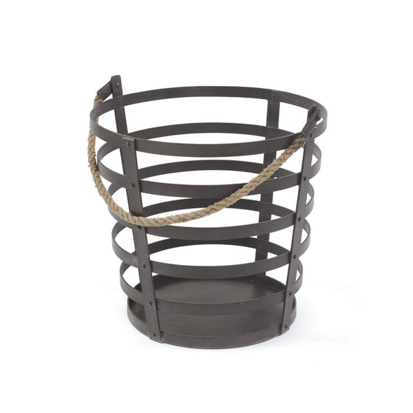 Iron and Rope Basket - Urbanily Lifestyle Goods