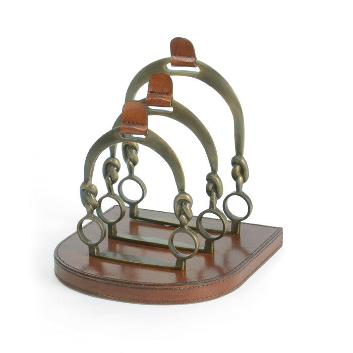 Equestrian Inspired Letter Rack - Modern Industrial & Eclectic Vintage Furniture & Decor by Urbanily - Office Accessory