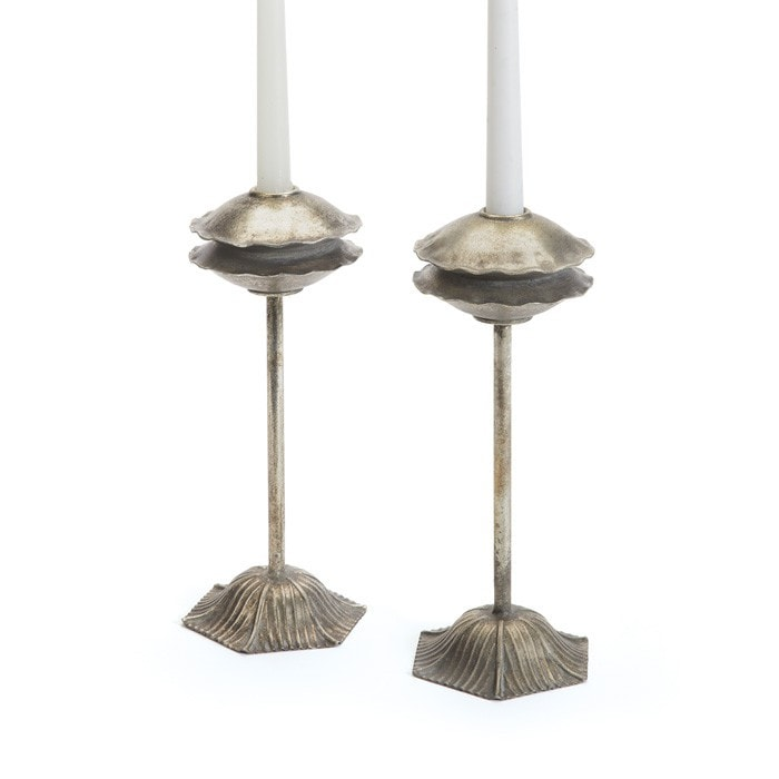 Pair of Tangier Candlesticks - Modern Industrial & Eclectic Vintage Furniture & Decor by Urbanily - Candle Holder
