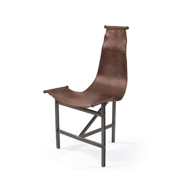 Eileen Leather Chair - Urbanily Lifestyle Goods