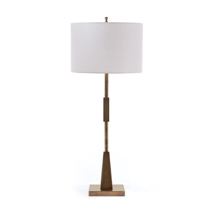 Brushed Brass Table Lamp - Modern Industrial & Eclectic Vintage Furniture & Decor by Urbanily - Table Lamp