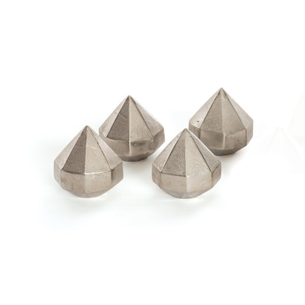 Diamond Paperweights - Set of Four - Urbanily Lifestyle Goods