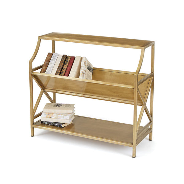 Brass Periodical Shelf - Urbanily Lifestyle Goods