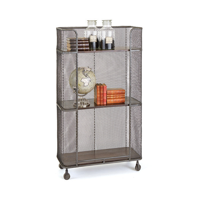 Iron Shelving Unit - Modern Industrial & Eclectic Vintage Furniture & Decor by Urbanily - Shelving