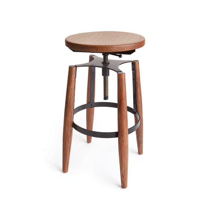 Pierce Stool - Modern Industrial & Eclectic Vintage Furniture & Decor by Urbanily - Stool