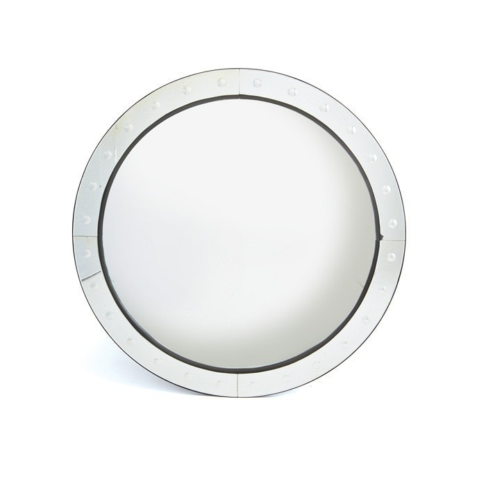 Pamlico Convex Mirror - Modern Industrial & Eclectic Vintage Furniture & Decor by Urbanily - Mirror