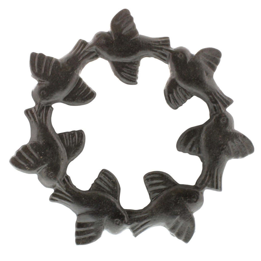 Bird Cast Iron Trivets - Set of Two - Urbanily Lifestyle Goods