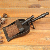 Fireplace Dust Pan With Broom - Modern Industrial & Eclectic Vintage Furniture & Decor by Urbanily - Accessories - 3