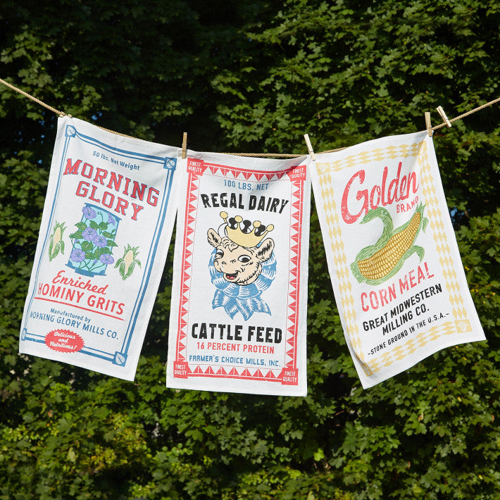 Farmstead Dish Towels - Set of 12