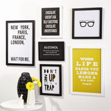 Edgy Gallery Wall Art - Set of 12 - Urbanily Lifestyle Goods