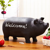Chalkboard Pig with Chalk - Urbanily Lifestyle Goods