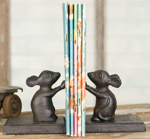 Cute Mice Bookends - Urbanily Lifestyle Goods