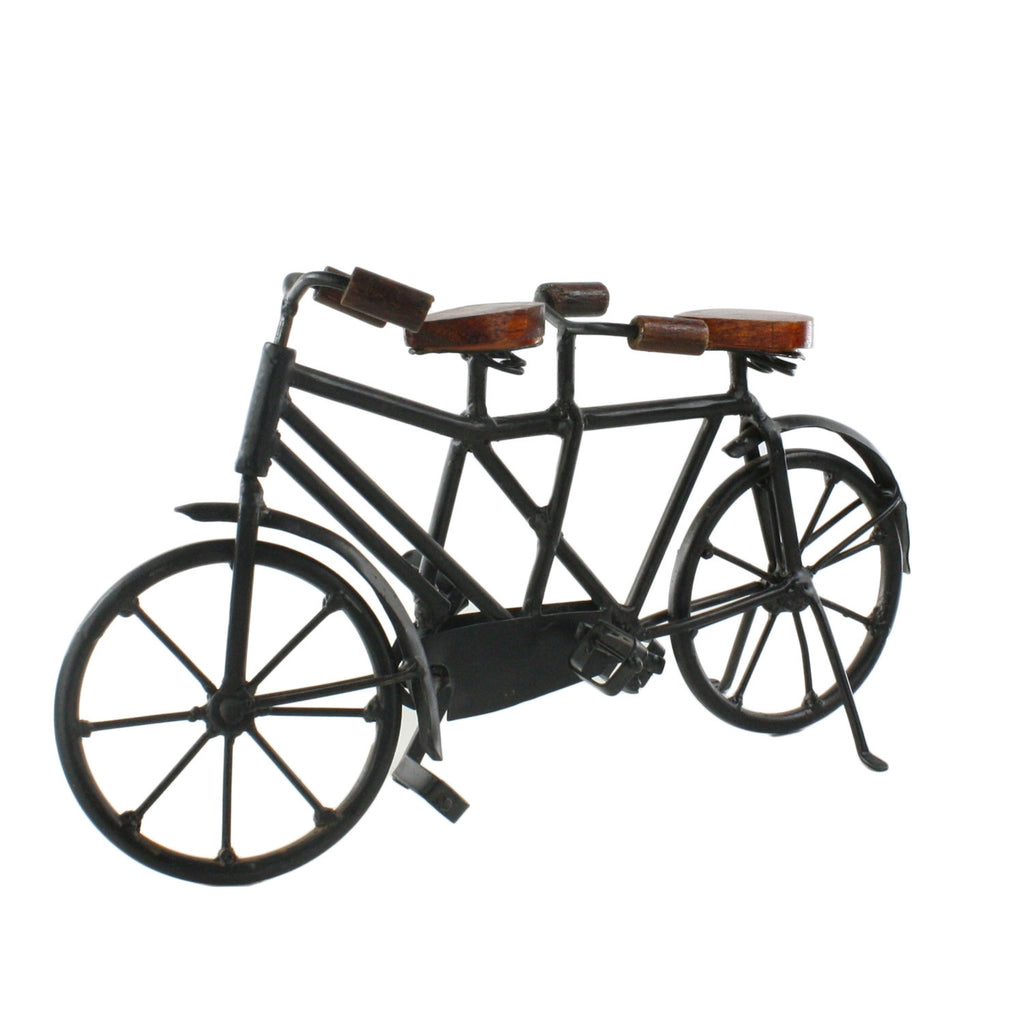 Iron and Wood Bicycle - Urbanily Lifestyle Goods