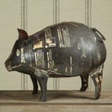 Reclaimed Metal Pig - Modern Industrial & Eclectic Vintage Furniture & Decor by Urbanily - Accessories - 3