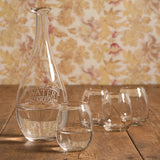 Water Carafe With Four Cups