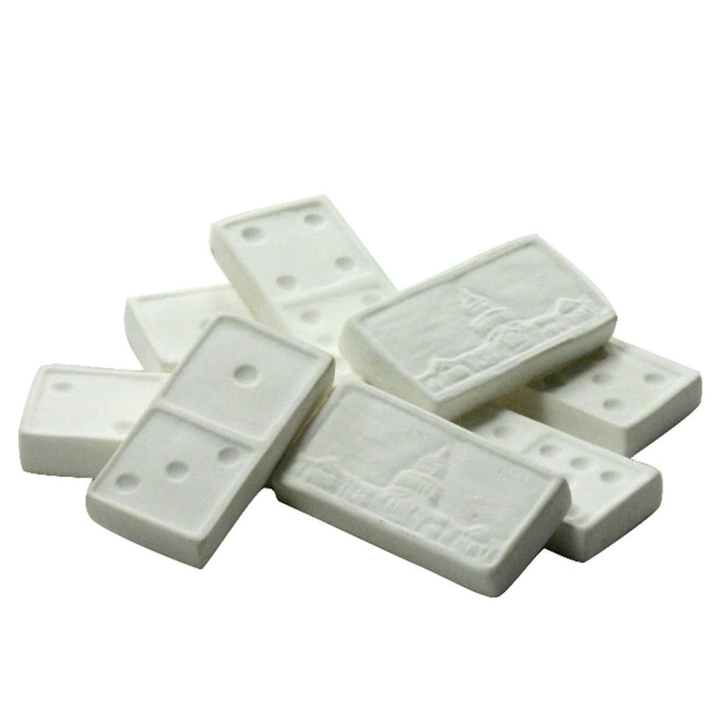 Bone China Dominos - Set of 8 - Urbanily Lifestyle Goods