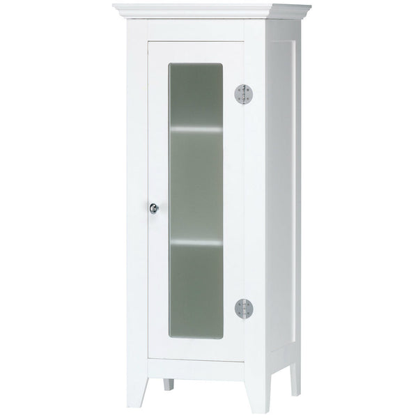 Glass Narrow Cabinet