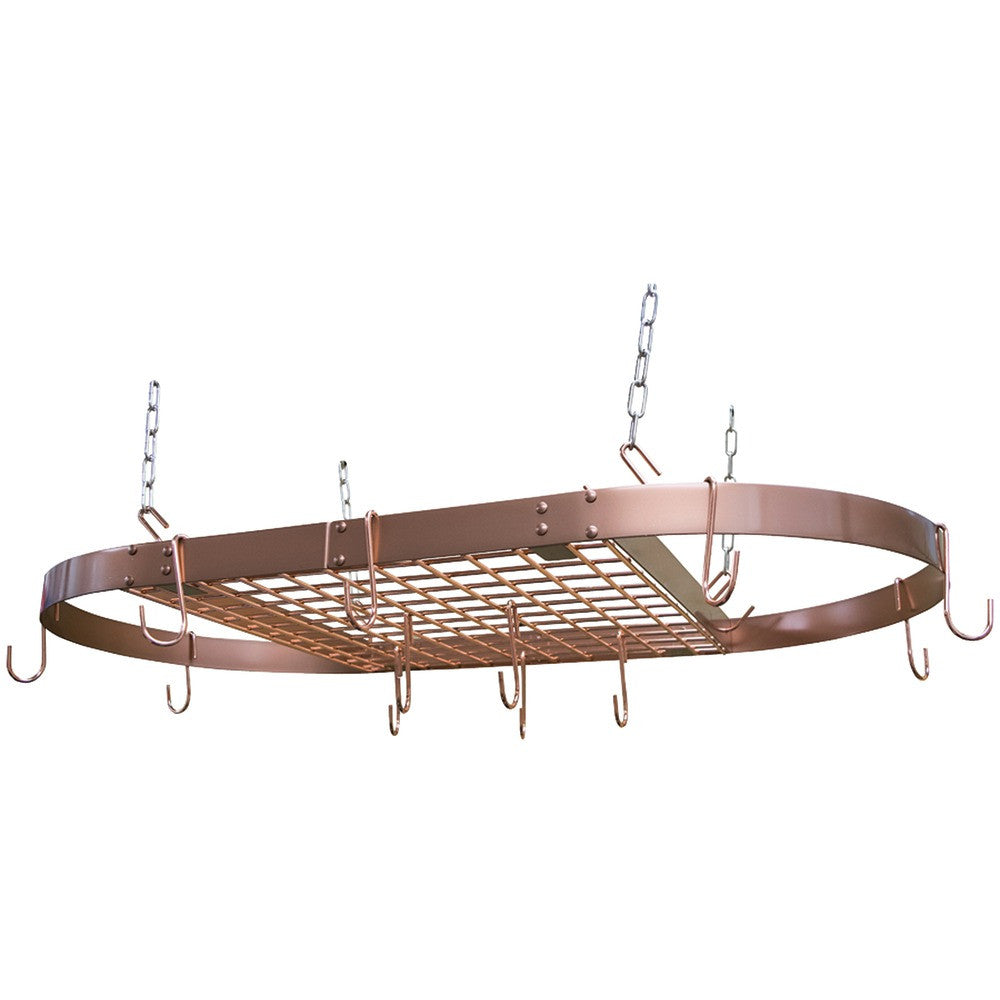 Range Kleen Mfg. Copper Oval Pot Rack