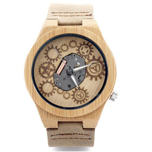 Bamboo Wood Watch - Urbanily Lifestyle Goods