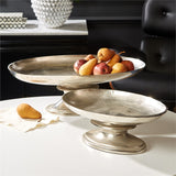 Curvature Aluminum Platters Set of Two - Urbanily Lifestyle Goods