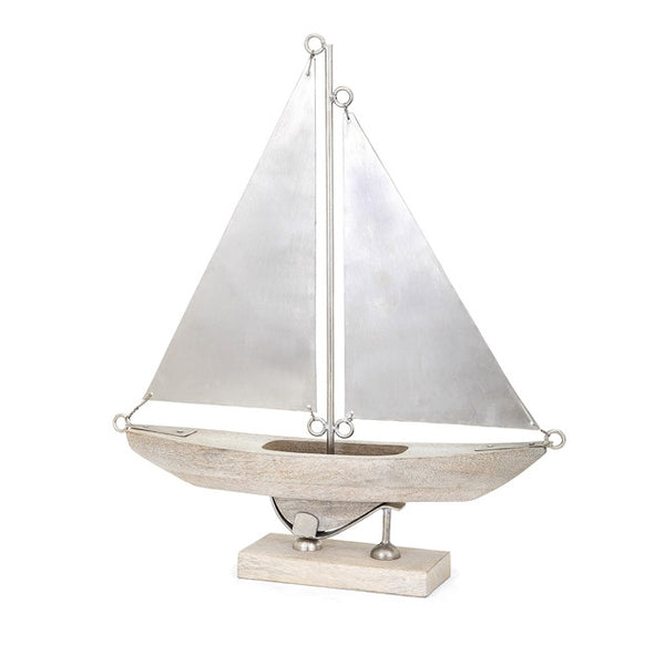 Leland Wood and Aluminum Sailboat