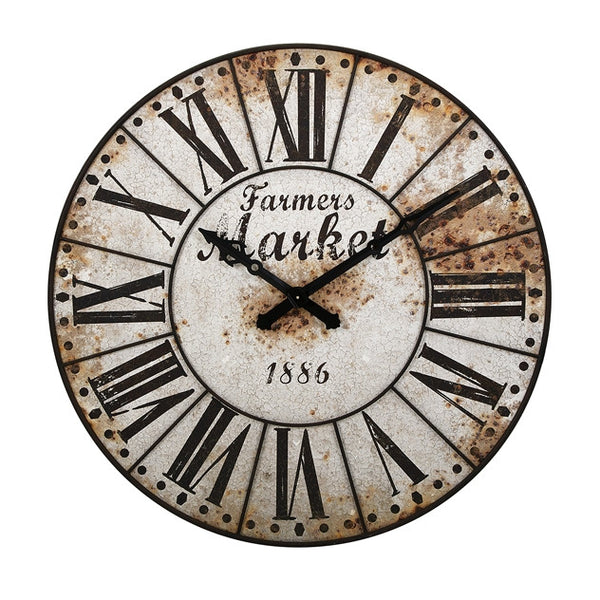 Farmers Market Wall Clock - Urbanily Lifestyle Goods