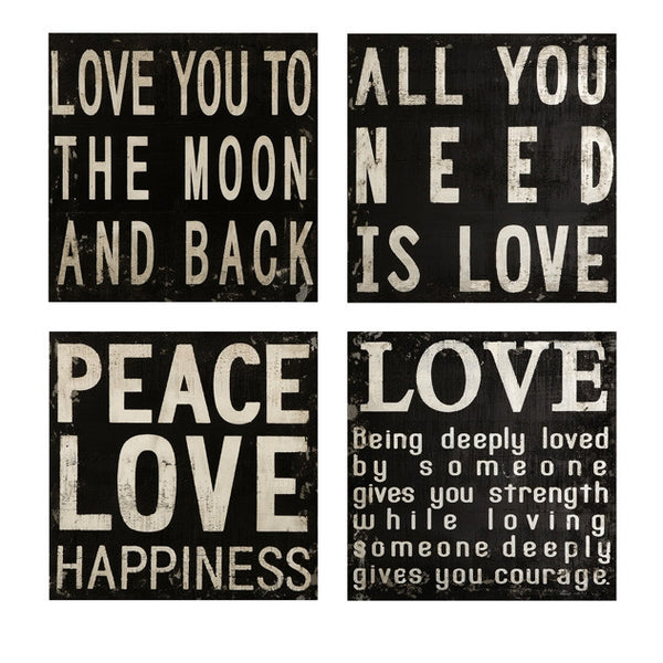 Black and White Wall Quotes - Urbanily Lifestyle Goods