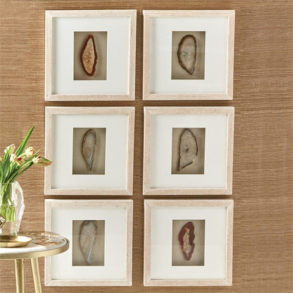 Geode Wall Art - Set of 6 - Urbanily Lifestyle Goods