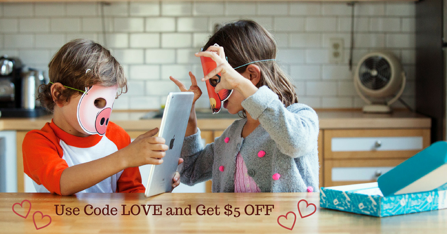 Our Gift to You! Get $5 off the Get Qurious Maker Box