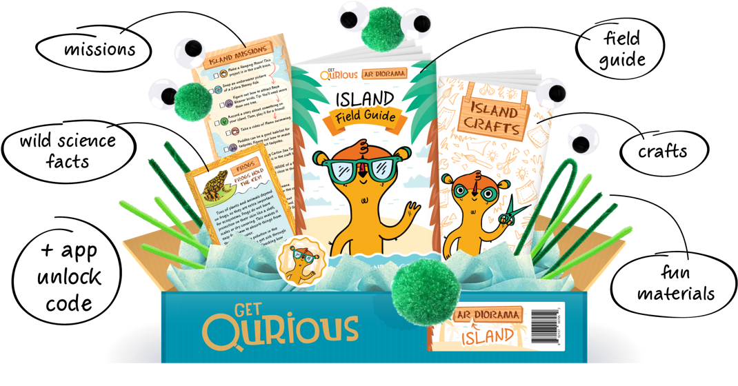 AR Creativity Boxes & Apps for Kids – Get Qurious